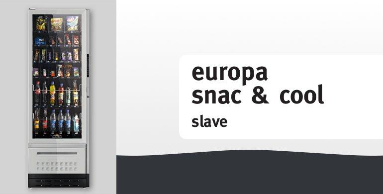 Snackautomat: europa snac & cool slave